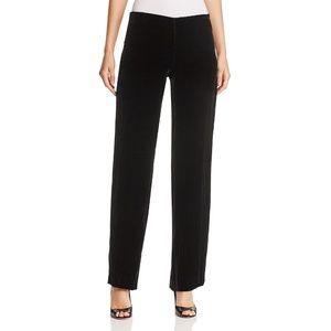 NWT Elie Tahari Odette Black Velvet Evening Pants